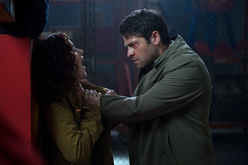 "Supernatural -- ""The Bad Seed"" -- Image SN1101B_0385.jpg -- Pictured: Misha Collins as Castiel -- Photo: Diyah Pera /The CW -- © 2015 The CW Network, LLC. All Rights Reserved."