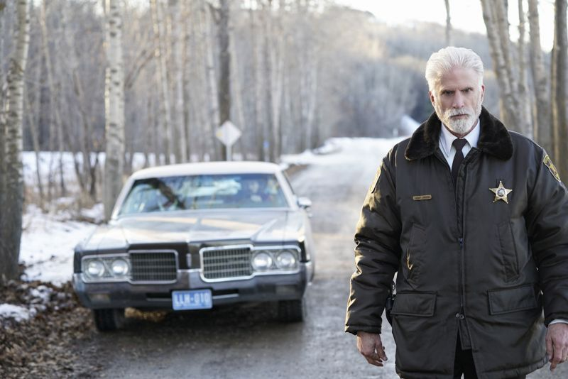 "FARGO -- ""Before The Law"" -- Episode 202 (Airs October 19, 10:00 pm e/p) Pictured: Ted Danson as Hank Larsson. CR: Chris Large/FX"