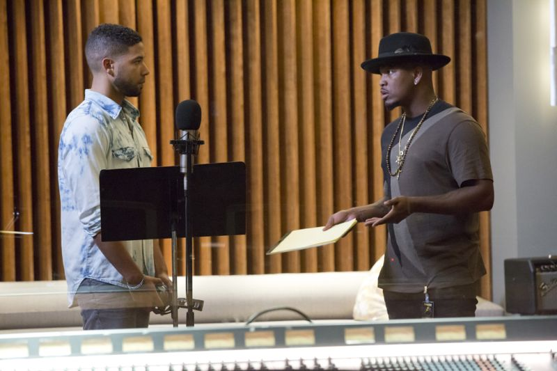 """EMPIRE: L-R: Jussie Smollett and music guest star Neo in the """"Be True"""" episode of EMPIRE airing Wednesday, Oct. 21 (9:00-10:00 PM ET/PT) on FOX. ©2015 Fox Broadcasting Co. Cr: Chuck Hodes/FOX."""
