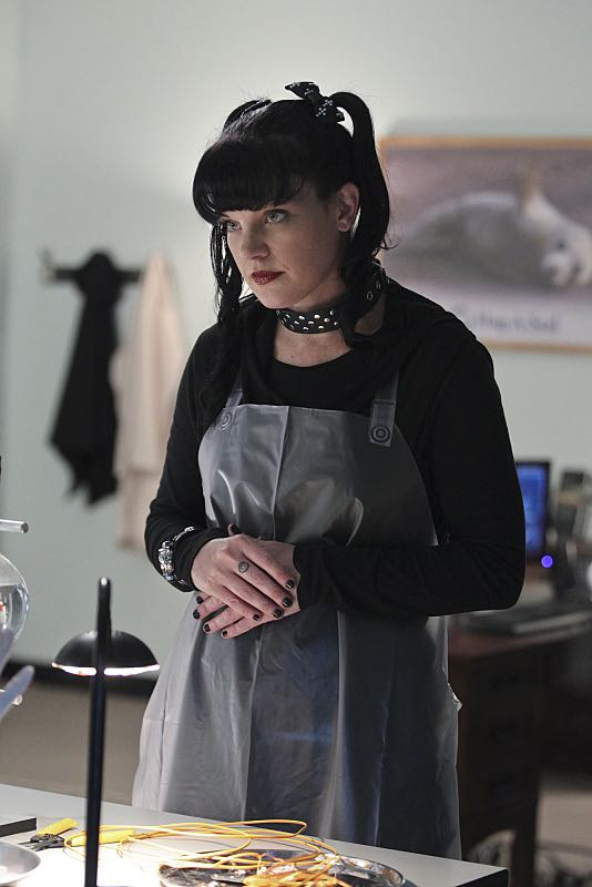 """Lockdown"" -- While visiting a pharmaceutical lab on a murder case, Abby (Pauley Perrette) is trapped with no communication to the outside world after armed men take over the building and hold everyone hostage, on NCIS, Tuesday, Oct. 20 (8:00-9:00 PM, ET/PT), on the CBS Television Network. Photo: Sonja Flemming/CBS ©2015 CBS Broadcasting, Inc. All Rights Reserved"