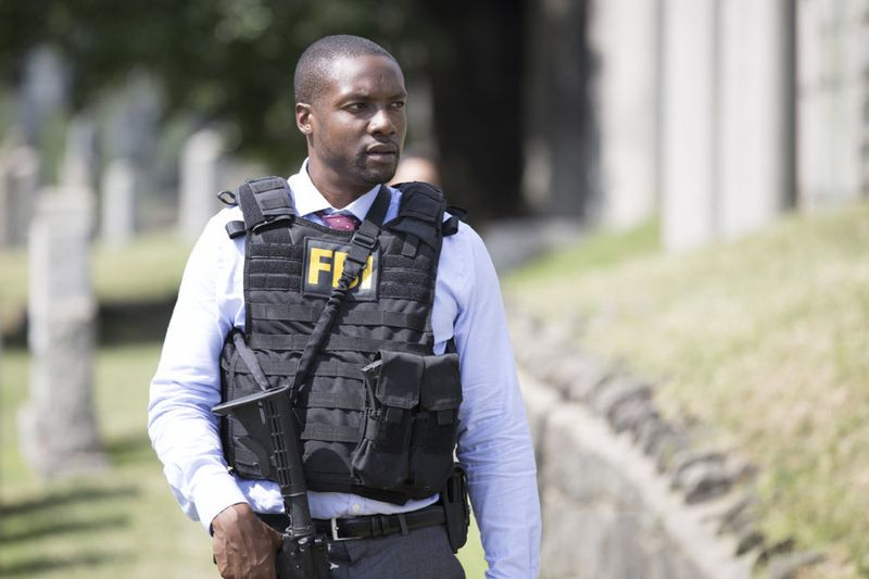 "BLINDSPOT -- ""Split The Law"" Episode 105 -- Pictured: Rob Brown as Edgar Reed -- (Photo by: Paul Sarkis/NBC)"