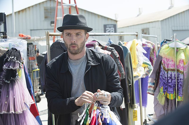 """""""Super Fun Guys"""" -- Team Scorpion goes undercover on the """"Super Fun Guy"""" movie set in Kazakstan in order to disable a soviet era nuclear missile being sold by terrorists, on SCORPION, Monday, Oct. 19 (9:00-9:59 PM, ET/PT) on the CBS Television Network. Pictured: Eddie Kaye Thomas as Toby Curtis. Photo: Neil Jacobs/CBS ©2015 CBS Broadcasting, Inc. All Rights Reserved"""