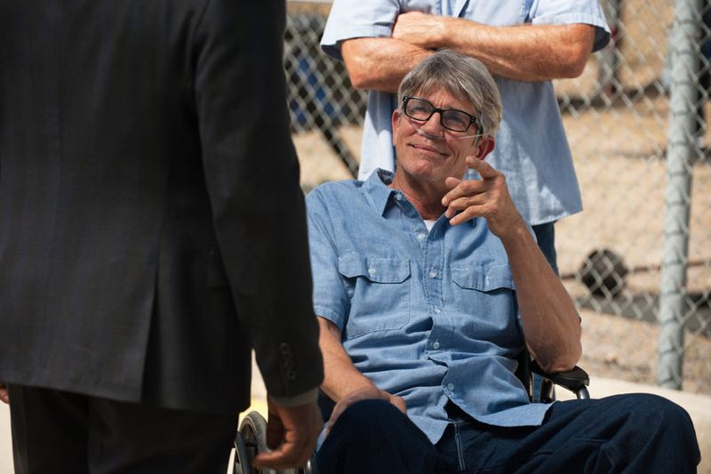 """THE PLAYER -- """"The Big Blind"""" Episode 103 -- Pictured: Eric Roberts as Pauly Agostino -- (Photo by: Colleen Hayes/NBC)"""