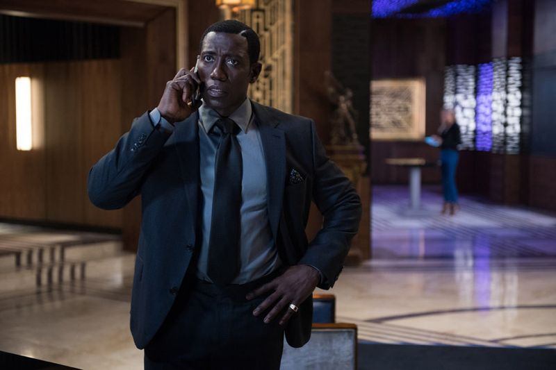 """THE PLAYER -- """"The Big Blind"""" Episode 103 -- Pictured: Wesley Snipes as Mr. Johnson -- (Photo by: Colleen Hayes/NBC)"""