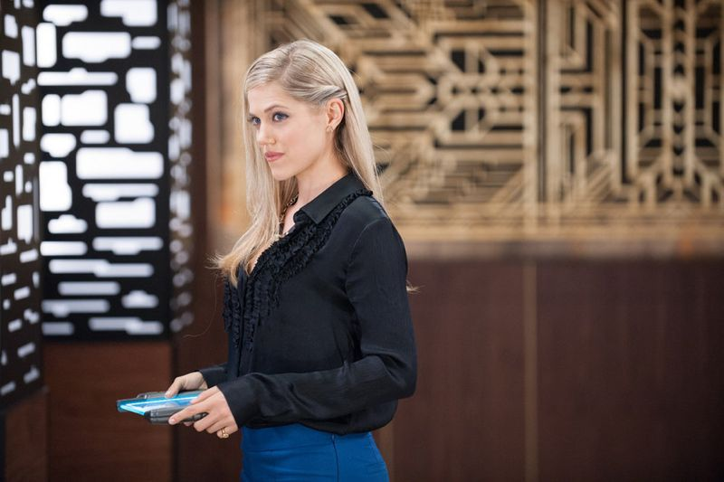"""THE PLAYER -- """"The Big Blind"""" Episode 103 -- Pictured: Charity Wakefield as Cassandra -- (Photo by: Colleen Hayes/NBC)"""