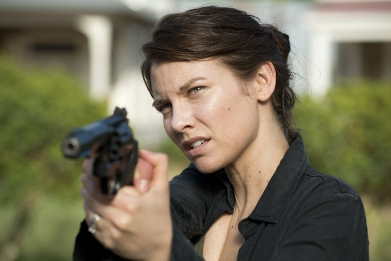 Lauren Cohan as Maggie Greene - The Walking Dead _ Season 6, Episode 2 - Photo Credit: Gene Page/AMC