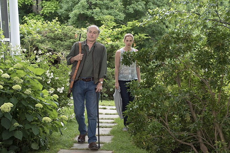 Peter Friedman as Robert and Ruth WIlson as Alison in The Affair (season 2, episode 3). - Photo: Mark Schafer/SHOWTIME - Photo ID: TheAffair_203_0929