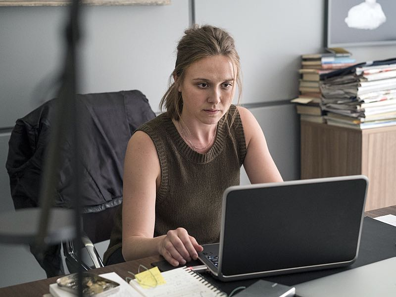 Sarah Sokolovic as Laura Sutton in Homeland (Season 5, Episode 3). - Photo: Stephan Rabold/SHOWTIME - Photo ID; Homeland_503_2221.R