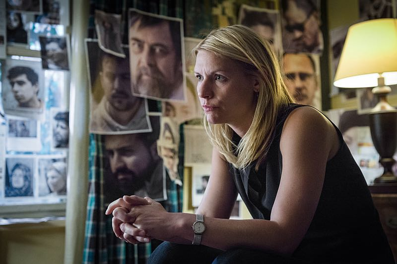 Claire Danes as Carrie Mathison in Homeland (Season 5, Episode 3). - Photo: Stephan Rabold/SHOWTIME - Photo ID; Homeland_503_5523.R