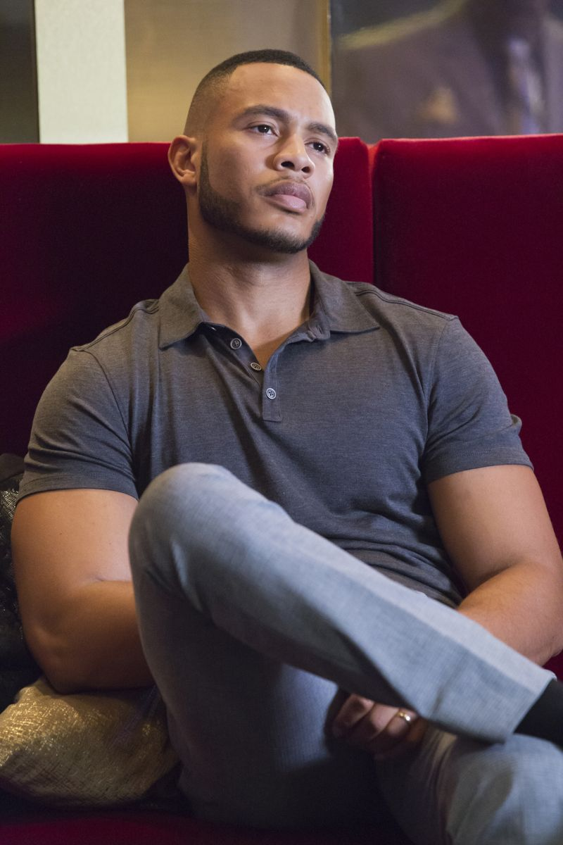 """EMPIRE: Trai Byers as Andre Lyon in the """"Poor Yorick"""" episode of EMPIRE airing Wednesday, Oct. 14 (9:00-10:00 PM ET/PT) on FOX. ©2015 Fox Broadcasting Co. Cr: Chuck Hodes/FOX."""