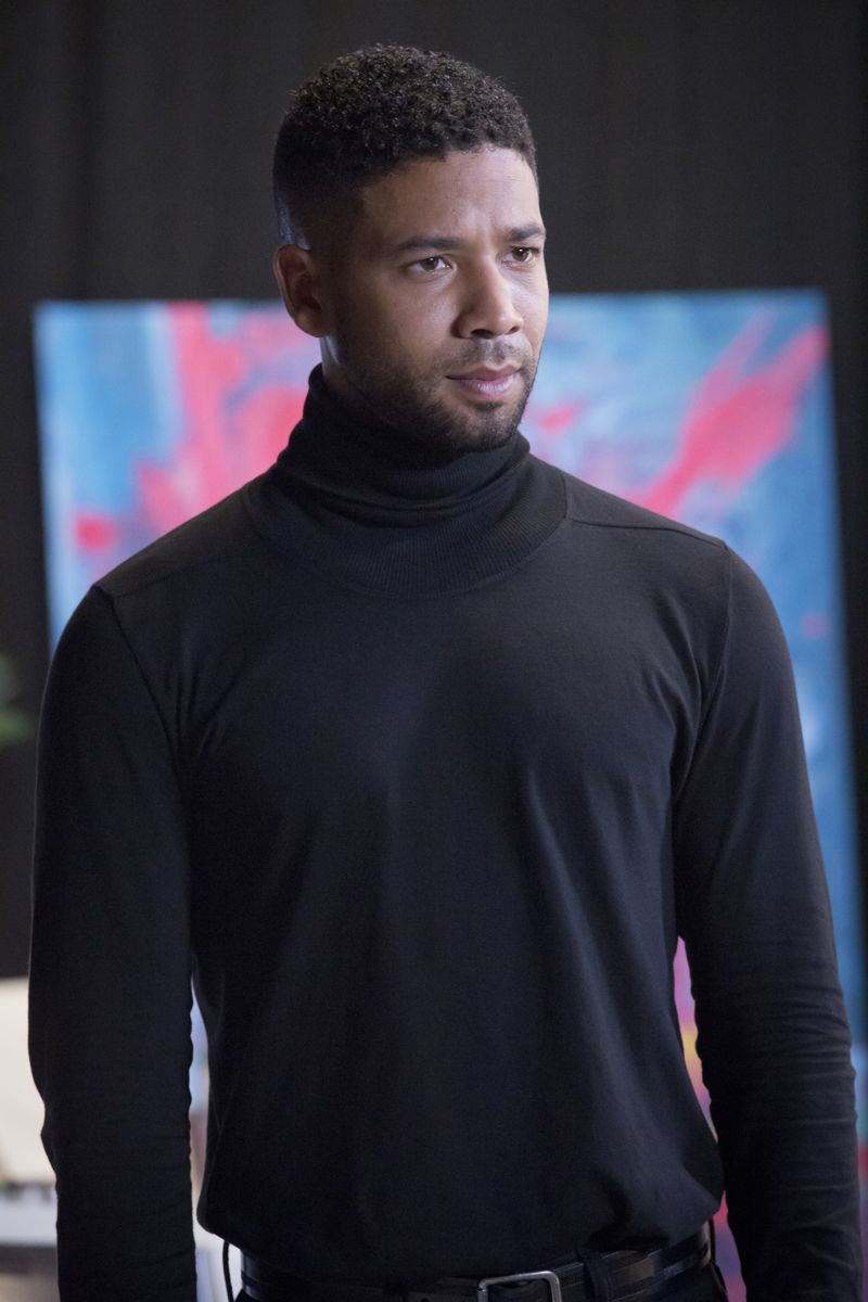 """EMPIRE: Jussie Smollett as Jamal Lyon in the """"Poor Yorick"""" episode of EMPIRE airing Wednesday, Oct. 14 (9:00-10:00 PM ET/PT) on FOX. ©2015 Fox Broadcasting Co. Cr: Chuck Hodes/FOX."""