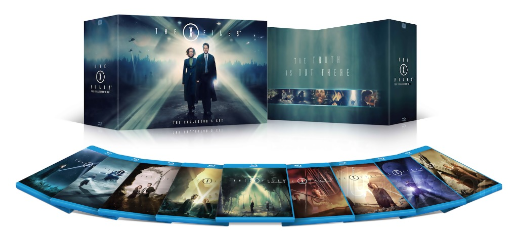 The X Files Bluray Collectors Set 1