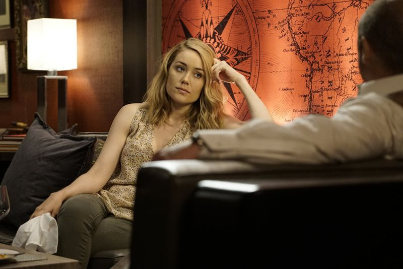 "THE BLACKLIST -- ""Eli Matchett"" Episode 303 -- Pictured: Megan Boone as Liz Keen -- (Photo by: Peter Kramer/NBC)"