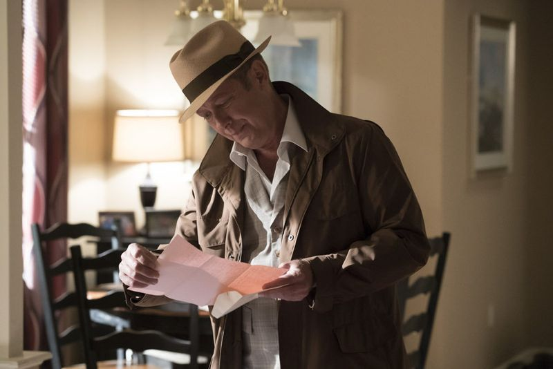 "THE BLACKLIST -- ""Eli Matchett"" Episode 303 -- Pictured: James Spader as Red Reddington -- (Photo by: Virginia Sherwood/NBC)"