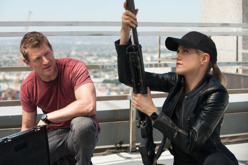 "THE PLAYER -- ""L.A. Takedown"" Episode 102-- Pictured: (l-r) Philip Winchester as Alex, Charity Wakefield as Cassandra -- (Photo by: Colleen Hayes/NBC)"