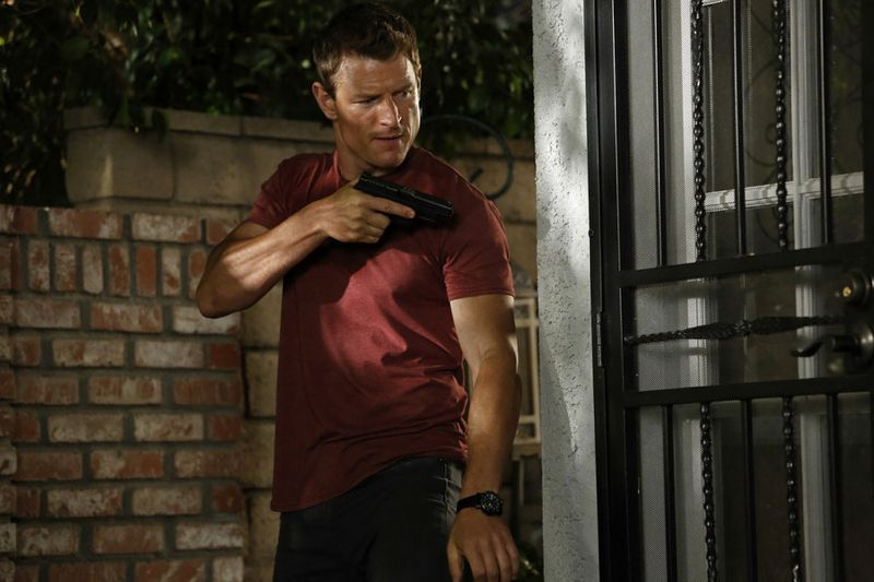 "THE PLAYER -- ""L.A. Takedown"" Episode 102 -- Pictured: Philip Winchester as Alex -- (Photo by: Vivian Zink/NBC)"