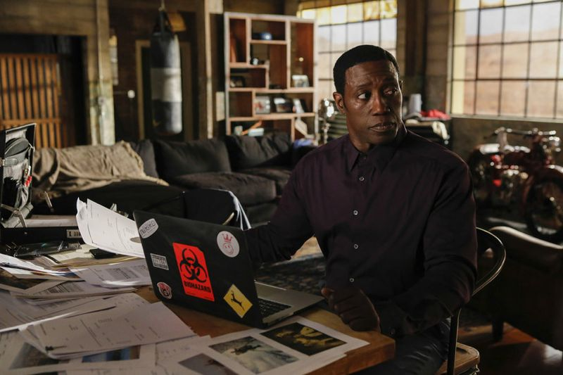 "THE PLAYER -- ""L.A. Takedown"" Episode 102 -- Pictured: Wesley Snipes as Mr. Johnson -- (Photo by: Vivian Zink/NBC)"