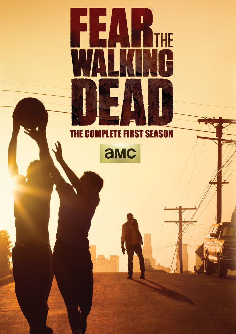 Fear The Walking Dead Season 1 DVD Cover