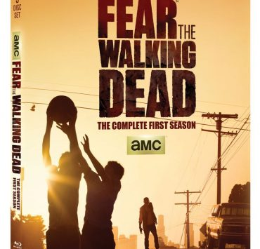 Fear The Walking Dead Season 1 Bluray Cover