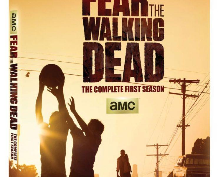 Fear The Walking Dead Season 1 Bluray Cover