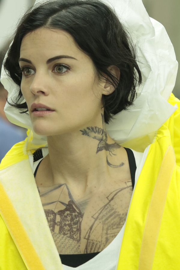 """BLINDSPOT -- """"Bone May Rot"""" Episode 104 -- Pictured: Jaimie Alexander as Jane Doe -- (Photo by: Giovanni Rufino/NBC)"""