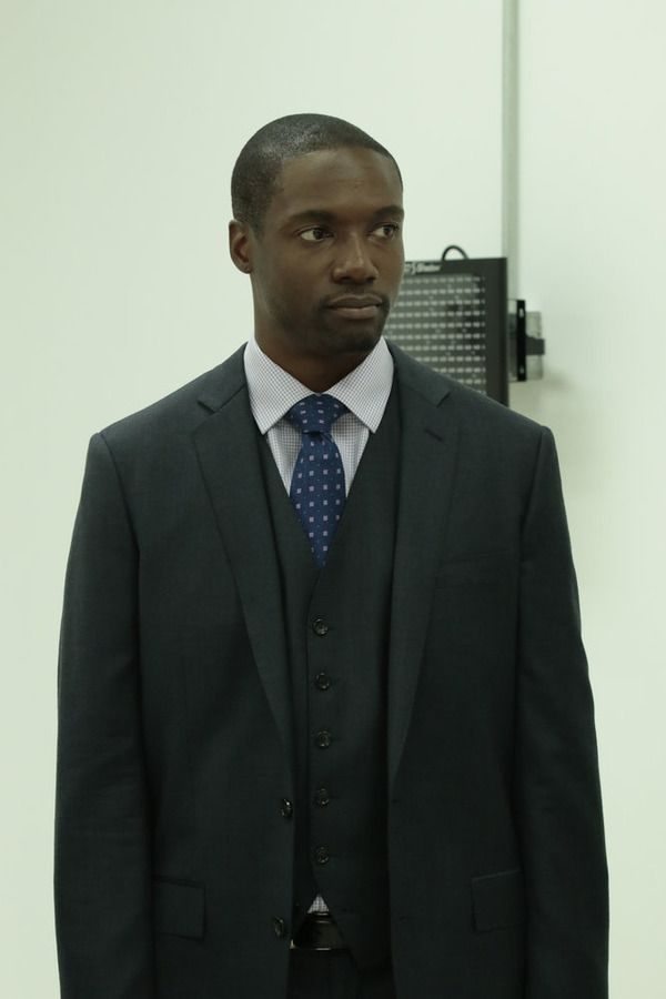 """BLINDSPOT -- """"Bone May Rot"""" Episode 104 -- Pictured: Rob Brown as Edgar Reed -- (Photo by: Giovanni Rufino/NBC)"""