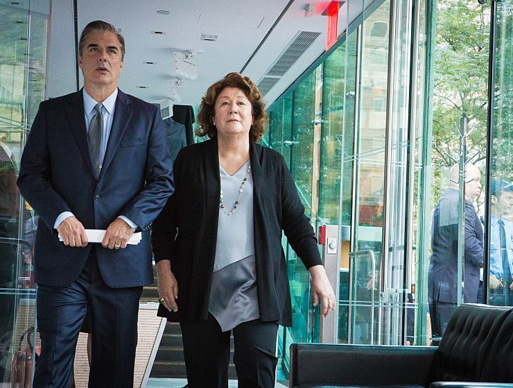 THE GOOD WIFE (L-R) Chris Noth as Peter Florrick and Margo Martindale as Ruth Eastman Photo: Paul Sarkis/CBS