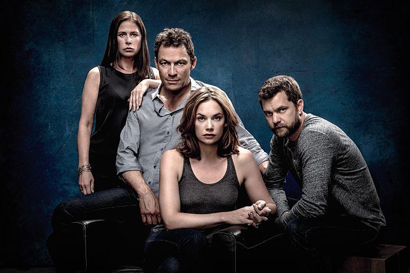 Maura Tierney as Helen, Dominic West as Noah, Ruth Wilson as Alison and Joshua Jackson as Cole in The Affair (Season 2). - Photo: Steven Lippman/SHOWTIME
