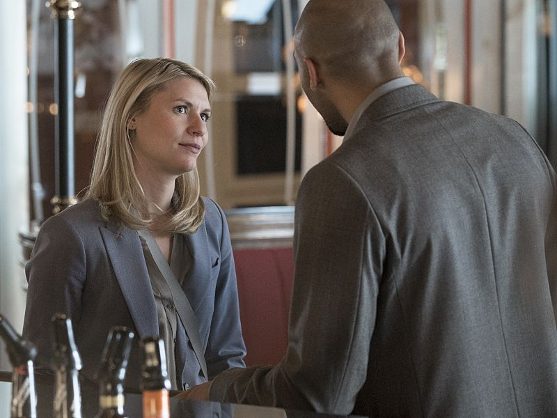 Claire Danes as Carrie Mathison in Homeland (Season 5, Episode 02). - Stephan Rabold/SHOWTIME - Photo ID: Homeland_502_3697.R
