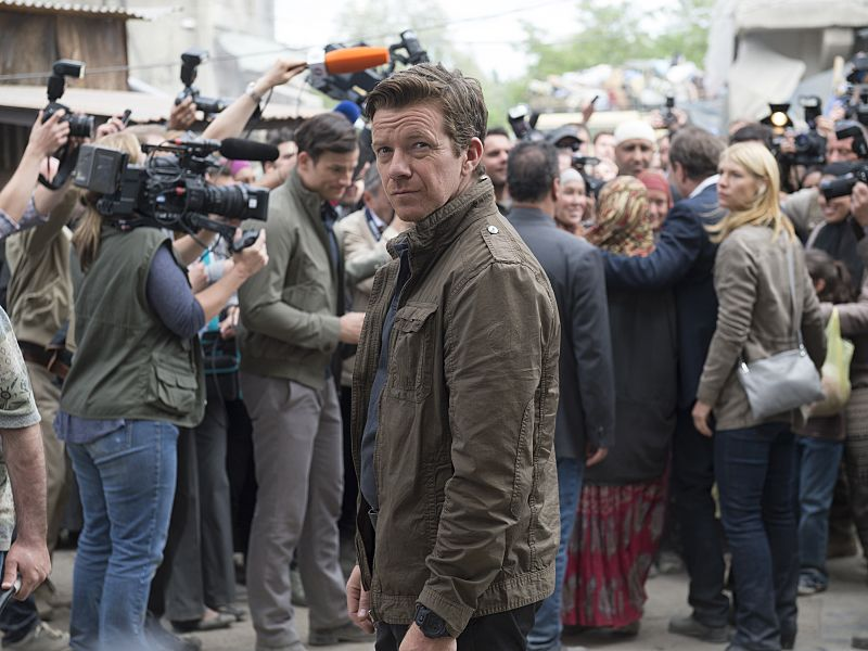 Max Beesley as Mike Brown in Homeland (Season 5, Episode 02). - Stephan Rabold/SHOWTIME - Photo ID: Homeland_502_1630.R