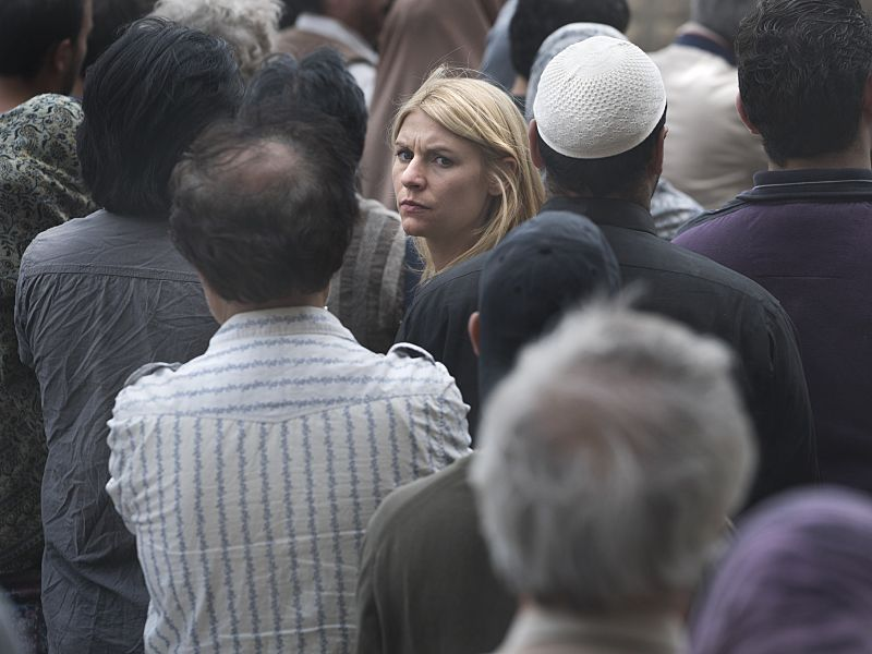 Claire Danes as Carrie Mathison in Homeland (Season 5, Episode 02). - Stephan Rabold/SHOWTIME - Photo ID: Homeland_502_1115.R