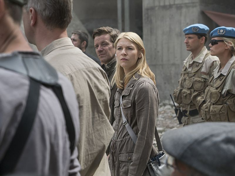 Claire Danes as Carrie Mathison in Homeland (Season 5, Episode 2). - Photo: Stephan Rabold/SHOWTIME - Photo ID: Homeland_502_0988.R