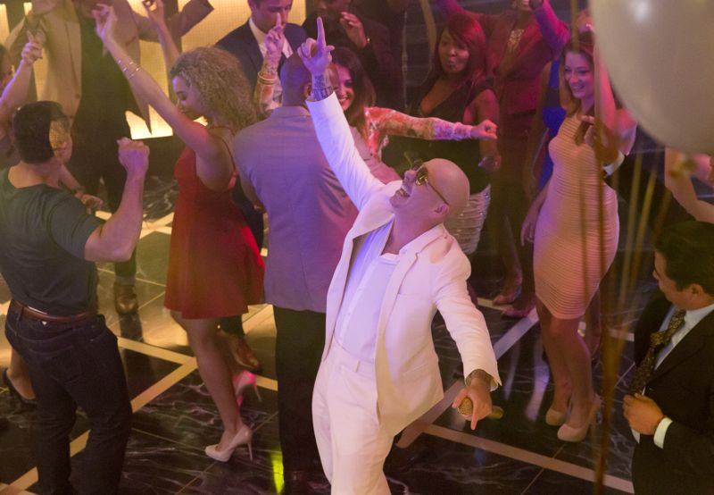 """EMPIRE: Guest star Pitbull in the """"Fires Of Heaven"""" episode of EMPIRE airing Wednesday, Oct. 7 (9:00-10:00 PM ET/PT) on FOX. ©2015 Fox Broadcasting Co. Cr: Chuck Hodes/FOX."""