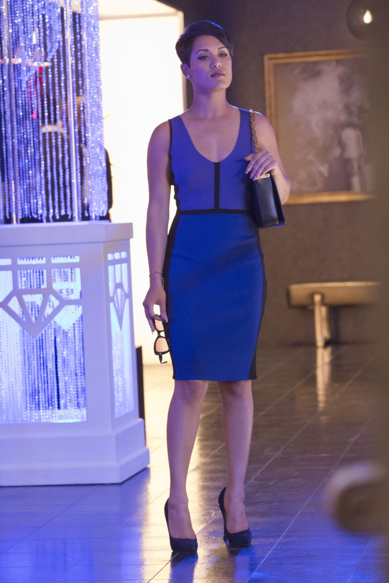 """EMPIRE: Grace Gealey as Anika in the """"Fires Of Heaven"""" episode of EMPIRE airing Wednesday, Oct. 7 (9:00-10:00 PM ET/PT) on FOX. ©2015 Fox Broadcasting Co. Cr: Chuck Hodes/FOX."""