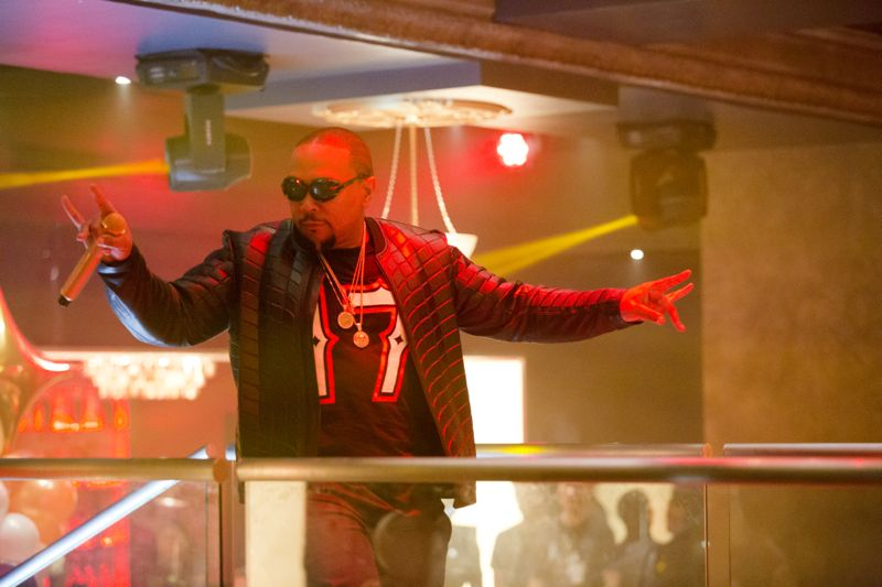 """EMPIRE: Executive Music Producer Timbaland in the """"Fires Of Heaven"""" episode of EMPIRE airing Wednesday, Oct. 7 (9:00-10:00 PM ET/PT) on FOX. ©2015 Fox Broadcasting Co. Cr: Chuck Hodes/FOX."""
