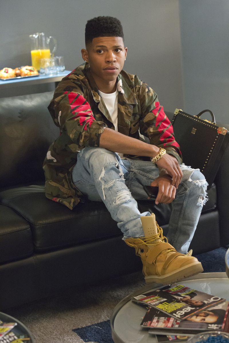 """EMPIRE: Bryshere Gray as Hakeem Lyon in the """"Fires Of Heaven"""" episode of EMPIRE airing Wednesday, Oct. 7 (9:00-10:00 PM ET/PT) on FOX. ©2015 Fox Broadcasting Co. Cr: Chuck Hodes/FOX."""