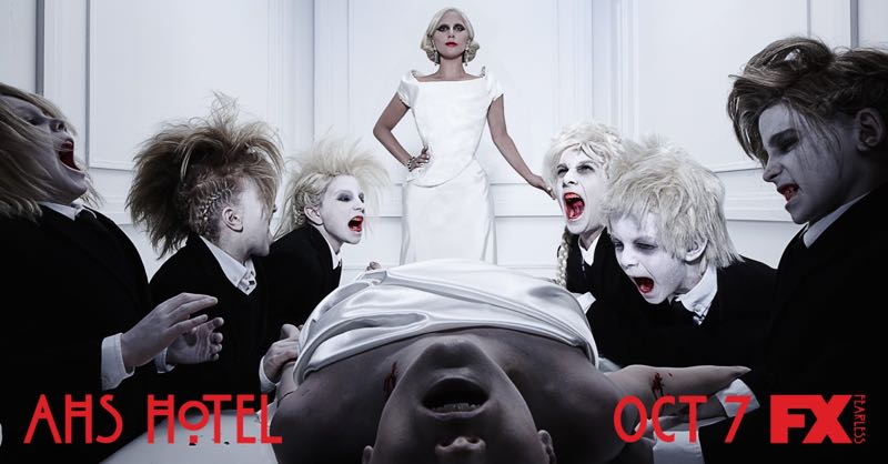 American Horror Story Hotel Poster 1