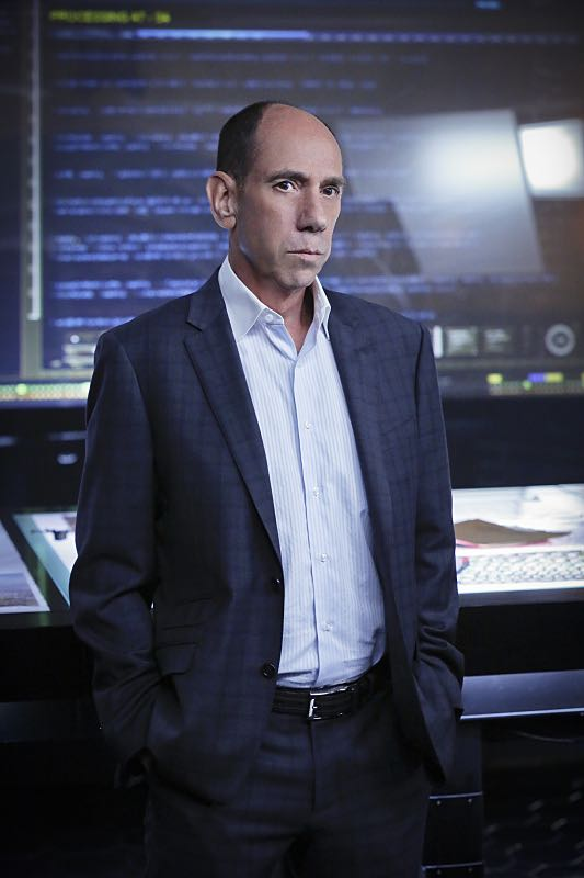 """""""Command & Control"""" -- Pictured: Miguel Ferrer (NCIS Assistant Director Owen Granger). Callen and Sam are forced to work on their day off when they mysteriously receive a cell phone and the caller threatens the lives of innocent people, on the special 150th episode of NCIS: LOS ANGELES, Monday, Oct. 12 (10:00-11:00, ET/PT), on the CBS Television Network. Photo: Robert Voets/CBS ©2015 CBS Broadcasting, Inc. All Rights Reserved"""