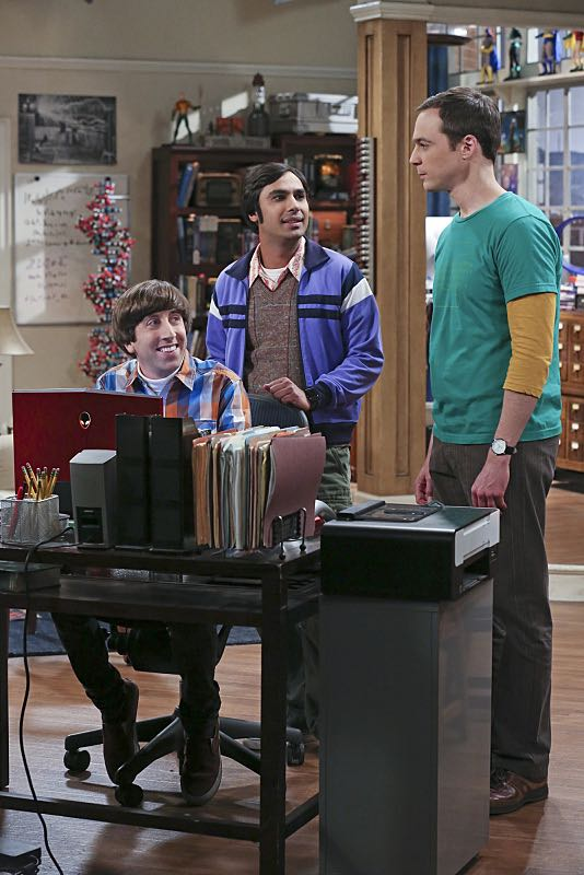 """""""The Mystery Date Observation"""" -- Sheldon, Wolowitz and Koothrappali post an online advertisement to find Sheldon a new girlfriend, on THE BIG BANG THEORY, Thursday, Nov. 12 (8:00-8:31 PM, ET/PT), on the CBS Television Network. Pictured left to right: Simon Helberg, Kunal Nayyar and Jim Parsons Photo: Michael Yarish/Warner Bros. Entertainment Inc. © 2015 WBEI. All rights reserved."""