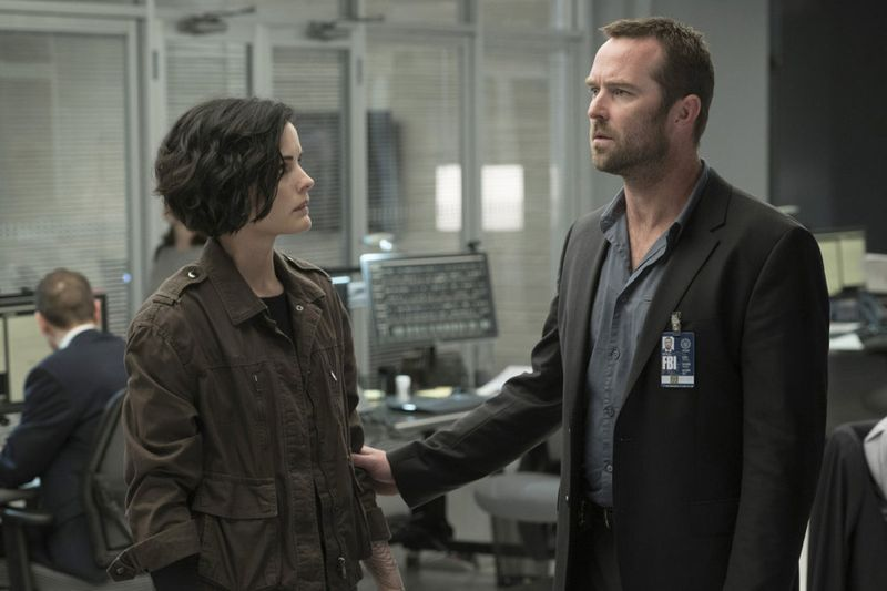 "BLINDSPOT -- ""Persecute Envoys"" Episode 108 -- Pictured: (l-r) -- (Photo by: Peter Kramer/NBC)"