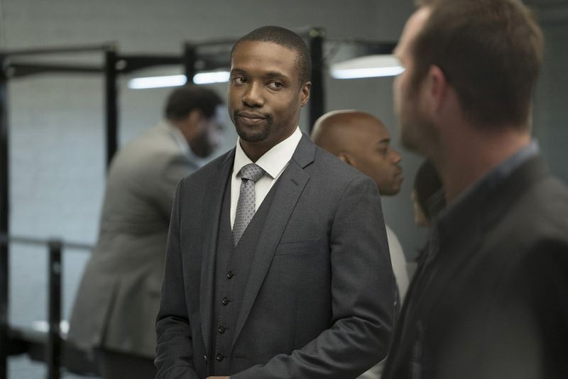 "BLINDSPOT -- ""Persecute Envoys"" Episode 108 -- Pictured: Rob Brown as Edgar Reed -- (Photo by: Peter Kramer/NBC)"