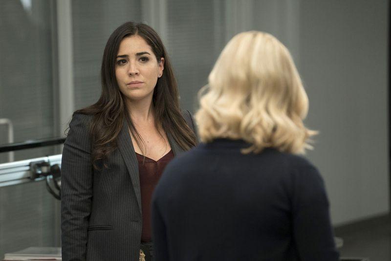 "BLINDSPOT -- ""Persecute Envoys"" Episode 108 -- Pictured: Audrey Esparza as Tasha Zapata -- (Photo by: Peter Kramer/NBC)"