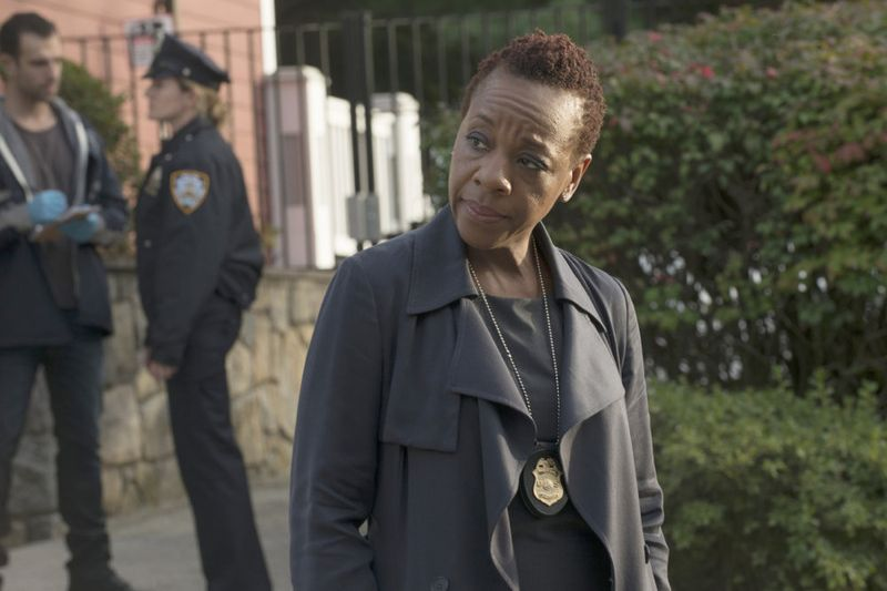 "BLINDSPOT -- ""Persecute Envoys"" Episode 108 -- Pictured: Marianne Jean-Baptiste as Bethany Mayfair -- (Photo by: Barbara Nitke/NBC)"