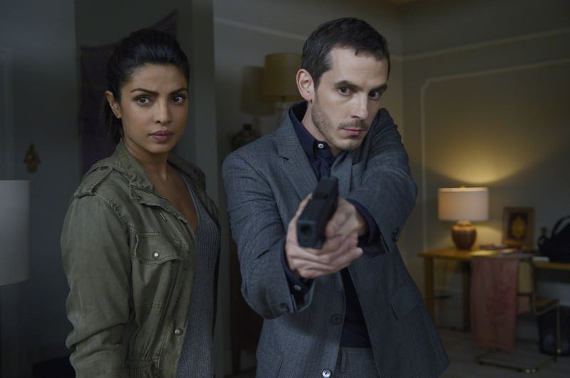 "QUANTICO - ""Go"" (ABC/Phillipe Bosse) PRIYANKA CHOPRA, TATE ELLINGTON"