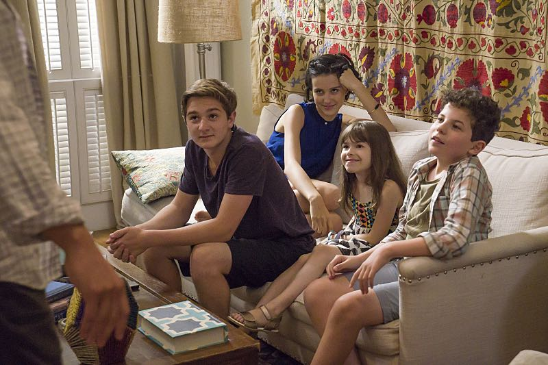 Jake Richard Siciliano as Martin, Julia Goldani Telles as Whitney, Leya Catlett as Stacey and Jadon Sand as Trevor in The Affair (season 2, episode 6). - Photo: Mark Schafer/SHOWTIME - Photo ID: TheAffair_206_2345