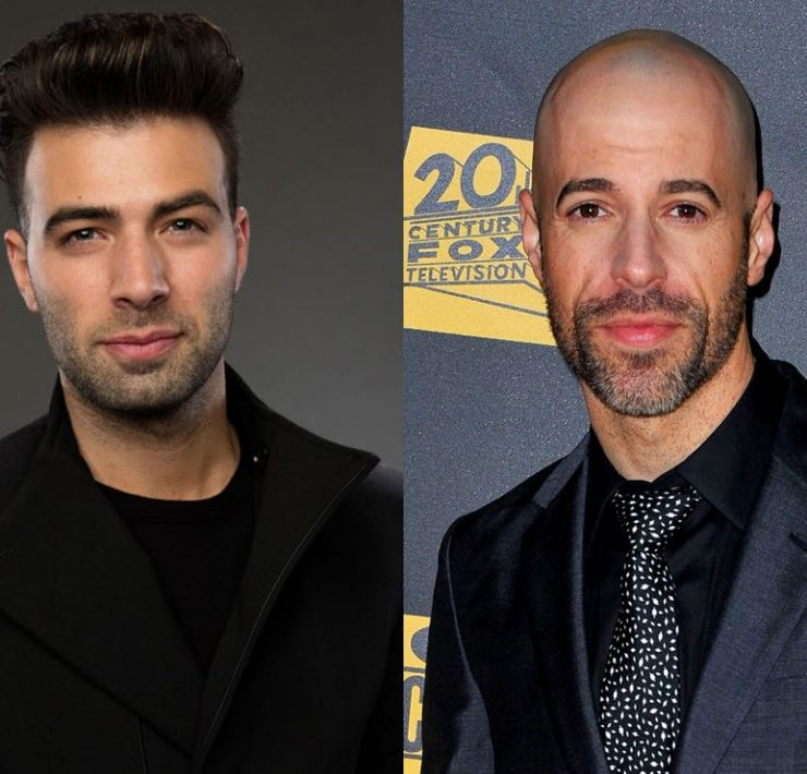 Jencarlos Canela Cast as Jesus Christ and Chris Daughtry
