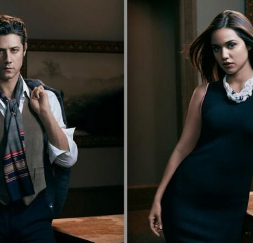 The Magicians Hale Appleman and Summer Bishil
