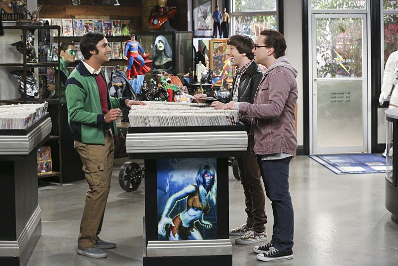 """The Empathy Optimization"" -- After having to deal with a sick Sheldon, Leonard, Penny and the gang try to treat themselves to a Sheldon-free weekend, on THE BIG BANG THEORY, Thursday, Jan. 14 (8:00-8:31, ET/PT), on the CBS Television Network. Pictured left to right: Kunal Nayyar, Simon Helberg and Johnny Galecki Photo: Michael Yarish/Warner Bros. Entertainment Inc. © 2015 WBEI. All rights reserved."