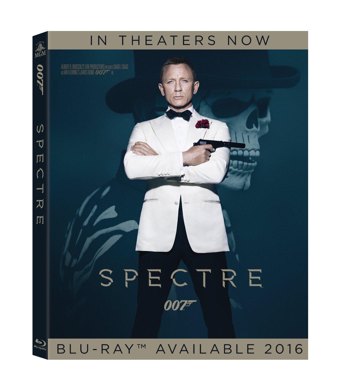 Spectre Bluray Cover