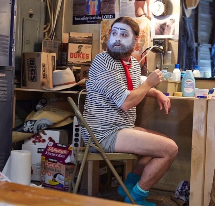 Baskets FX Zach Galifianakis
